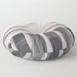 The Pantheon, fine art print, black & white photo, Rome photography, Italy lover, Roman history Floor Pillow