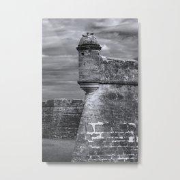 Castillo de San Marcos Metal Print