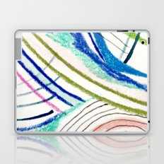 Wild: a mixed media piece in a variety of bright colors Laptop & iPad Skin