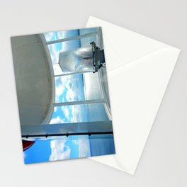 Souris Lighthouse View from the Top Stationery Cards