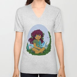 Eniau and spirit - Spirit pal Unisex V-Neck