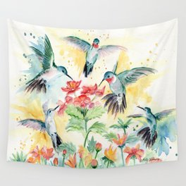 Hummingbird Party Wall Tapestry