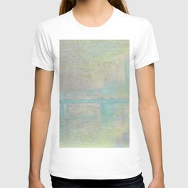 Claude Monet Charing Cross Bridge T-shirt