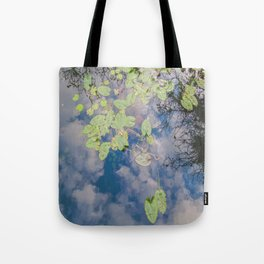 Looking Down or Looking Up Tote Bag