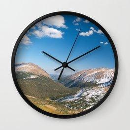 Rocky Mountain National Park Wall Clock