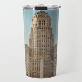 Down Town City Hall Buffalo NY Travel Mug