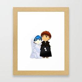 KagaKuro Wedding (Without Bg vers) Framed Art Print