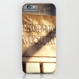 Forest Hill 3 iPhone Case