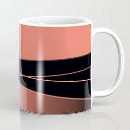 Black and red. Coffee Mug