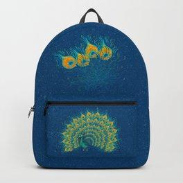 Peacock bag petrol blue Backpack