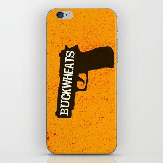 Buckwheats iPhone & iPod Skin