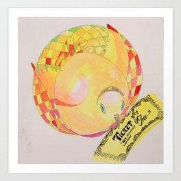 Ticket Turkey Art Print