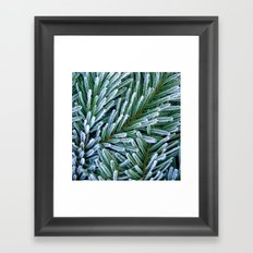 cold winter IV Framed Art Print