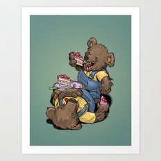 The Bears Art Print