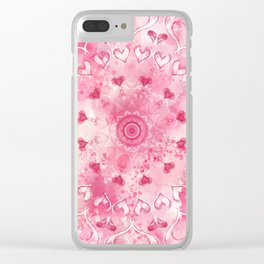 """The Suitor's Plea"" Kaleidoscope 5 by Angelique G. @FromtheBreathofDaydreams Clear iPhone Case"