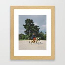 Joy Ride Framed Art Print