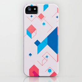 Cubicle iPhone Case