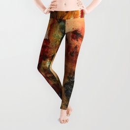 Vers le Songe et l'Abstrait, An Abstract Sketch by Gustave Moreau Leggings