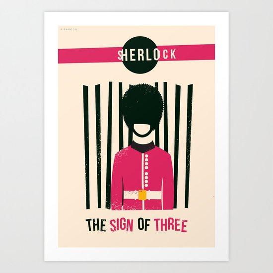 Sign of Three Art Print
