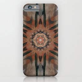 Bushfire Gum Medallion 5 iPhone Case