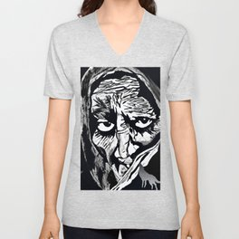 Oh Grandmother What Big Eyes You Have....The Better To See You With My Dear Unisex V-Neck