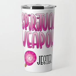 Critical Role - Spiritual Weapon (Jester) Travel Mug