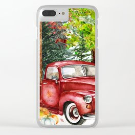 Maple Farms Clear iPhone Case