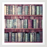 books Art Prints featuring books by Claudia Drossert