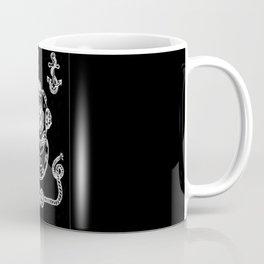 Deep Sea Diver Helmet Illustration Invert Coffee Mug
