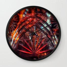 Double Crystal Daisy Wall Clock