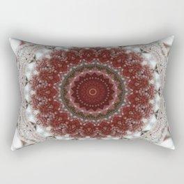 Red Frost Rectangular Pillow