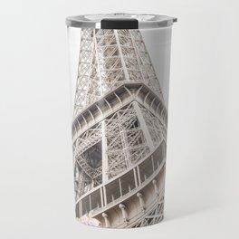 Eiffel Tower Cherry Blossoms Travel Mug