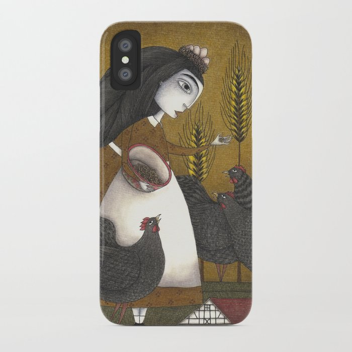Ira's Hens iPhone Case