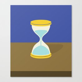Time is Almost Up! Canvas Print