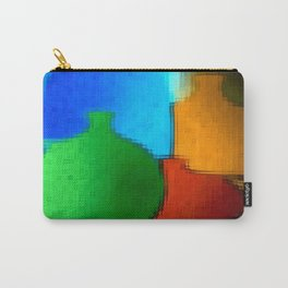 Colored jugs. Carry-All Pouch
