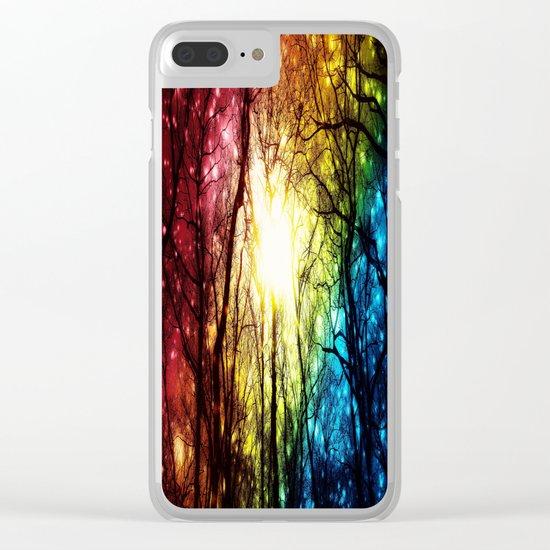 Rainbow Clear iPhone Case