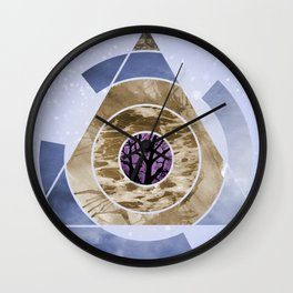 In With Nature Wall Clock