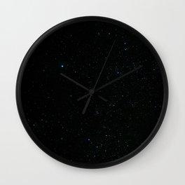 Night at the southern skies II Wall Clock