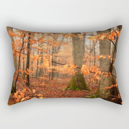 Mystic Autumn Forest Rectangular Pillow