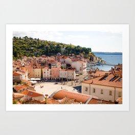 Mediterranean Summer Art Print