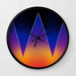 prisma 2 Wall Clock
