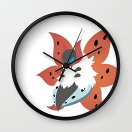 Volcarona Wall Clock