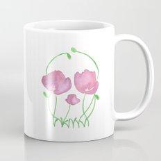 Tulip Skull Mug
