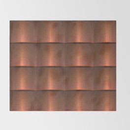 copper work Throw Blanket