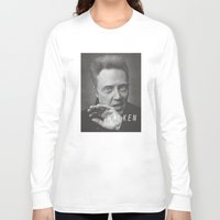 christopher walken Long Sleeve T-shirts featuring Christopher... Walken by Earl of Grey