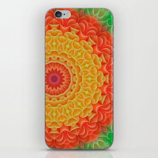 Orange/Yellow/Green K-scope iPhone & iPod Skin