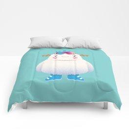 Cute Yeti Comforters
