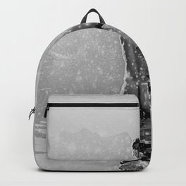 Alpine Snow Lake Nude Backpack