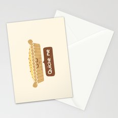 Quiche Me Stationery Cards