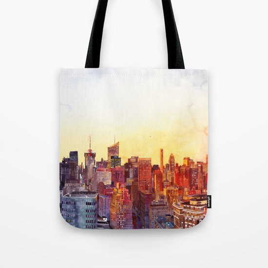 Sunshine in NYC Tote Bag